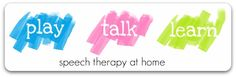 speech therapy at home blog