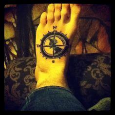 My foot tatt