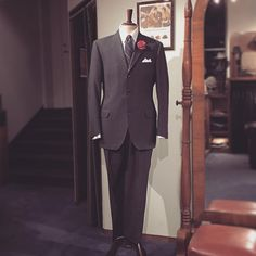 Wedding times are coming. Many men that visit us in search for their wedding suit leave the store with a 1960s suit. I think the timeless cut is the reason. Here's an example. Swedish mid 60s two piece suit, size about EU 50 (UK/US 40). Price 2900 SEK    #vintage #mensvintage #menswear #weddingsuit #mensstyle #mensfashion #1960svintage #1960ssuit #dapper #dandy