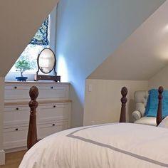 Built In Dresser Design, Pictures, Remodel, Decor and Ideas Dormer Bedroom, Home, Simple Bedroom, Small Bedroom Remodel, Bedroom Design, Rustic Bedroom, Remodel Bedroom, Built In Dresser, Room