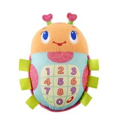 Bright Starts Phone Friend Toy, Bugaboo (Discontin...