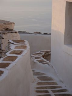 What A Wonderful World, Santorini, Wonders Of The World, Landscapes, Stairs, Places, Photos, Stairways, Paisajes