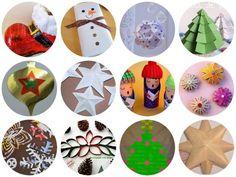 12 Adornos de Navidad para hacer con papel y cartón | Aprender manualidades es facilisimo.com