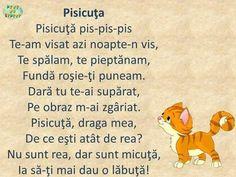 Romanian Language, Kids Poems, School Games, Best Teacher, Kids Education, Kids And Parenting, Activities For Kids, Kindergarten, Preschool
