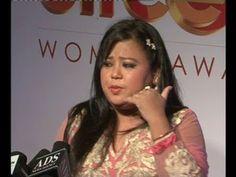 Bharti Singh TOO FUNNY @ STREE SHAKTI WOMEN AWARDS 2014.
