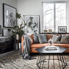 Intelgent Modern Living Room Scandinavian Decoration for Your Home Small Apartment Living, Small Apartment Decorating, Home Living Room, Living Room Designs, Living Room Decor, Small Living, Modern Living, Ikea Stockholm Sofa, Scandinavian Living