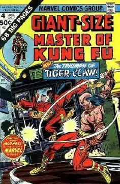 Giant Size Master of Kung Fu #4 Doug Moench Keith Pollard FN ---> shipping is $0.01 !!!