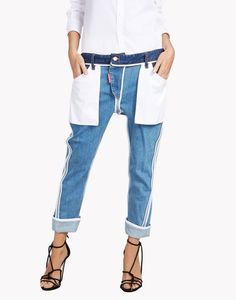 Dsquared2 Inside Out Icon Jeans