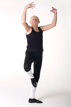 90 yr old man who starting taking ballet at age 80!