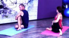 23 Min Lower Back Pain Therapeutic Yoga Class   Restorative Strength Mobility with Ali Kamenova and Bobi Nikolov