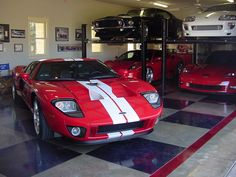 Top 10 Ultimate Dream Car Garages | Secret Entourage and what a great way to add extra room to your garage
