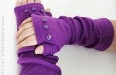 Fleece Crafts, Fleece Projects, Easy Sewing Projects, Sewing Tutorials, Sewing Crafts, Craft Projects, Sewing Tips, No Sew Projects, Dress Tutorials