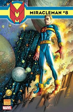 The cover to Miracleman #8 (2014), art by John Romita, Jr., et al.