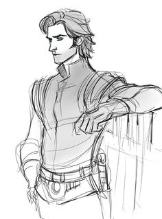 Guy of Gisborne drawing by kreugan