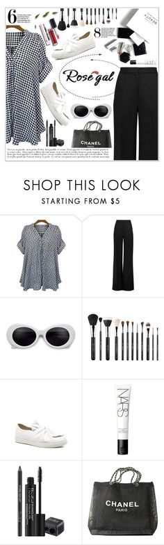"""""""Rosegal Contest ♥"""" by av-anul ❤ liked on Polyvore featuring Roksanda, Sigma, H&M, NARS Cosmetics, Rodial and Chanel"""