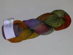 Dragonfly Fibers Hand Dyed Djinni Sock Yarn by creativemoments