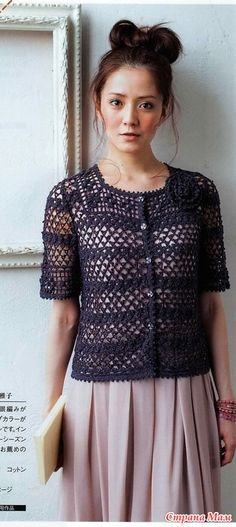 Fabulous Crochet a Little Black Crochet Dress Ideas. Georgeous Crochet a Little Black Crochet Dress Ideas. Crochet Bodycon Dresses, Black Crochet Dress, Crochet Coat, Crochet Shirt, Crochet Jacket, Crochet Cardigan, Love Crochet, Popular Crochet, Dress Tutorials