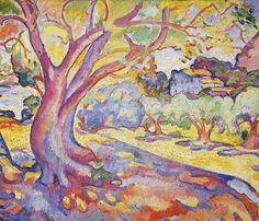 L'olivier, par Georges Braque ▓█▓▒░▒▓█▓▒░▒▓█▓▒░▒▓█▓ Gᴀʙʏ﹣Fᴇ́ᴇʀɪᴇ ﹕ Bɪᴊᴏᴜx ᴀ̀ ᴛʜᴇ̀ᴍᴇs ☞ http://www.alittlemarket.com/boutique/gaby_feerie-132444.html ▓█▓▒░▒▓█▓▒░▒▓█▓▒░▒▓█▓