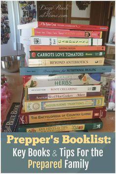 Prepper's Booklist: Key Books