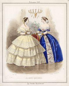 Victorian Era, Victorian Fashion, Vintage Fashion, Historical Costume, Historical Clothing, Old Dresses, Nice Dresses, Vintage Gowns, Vintage Outfits