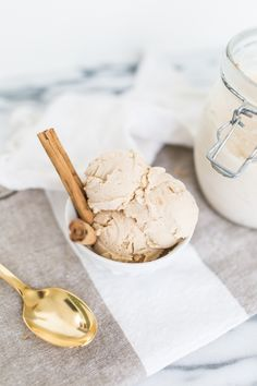 Eats // Homemade chai latte ice cream