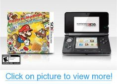 Nintendo System (Refurbished) and Paper Mario: Sticker Star Bundle. Multiple Colors Available. Paper Mario Sticker Star, Nintendo 3ds Case, 3d Mode, Video Game Console, Games To Play, Coupon, Boyfriend, Coupons