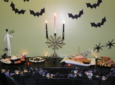 1st Halloween Party for Nephews --with attached recipes that I served for the party.