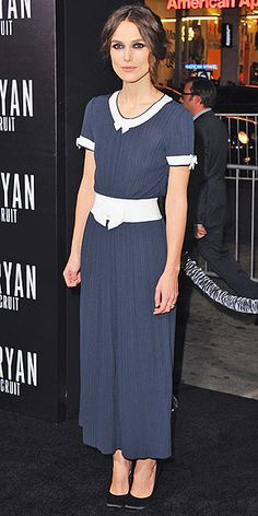 Love this dress.  KEIRA KNIGHTLEY in Chanel