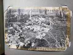"Not the Nanking Massacre, or Unit 731, but victims of the Russian Civil War. The caption reads, ""Enemy's dead bodies near the railroad terminal at Khabarovsk"" Japanese and White Russian forces fighting together in the Russian Civil War captured the city of Khabarovsk, located on the Amur River, on September 5, 1918."
