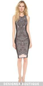 This instant Herve Leger Vivien Sheath Dress OnSale Comparison