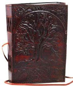 Oak Tree of Life Leather Handmade Diary Journal Book Notebook Sketchbook Scrapbook Album