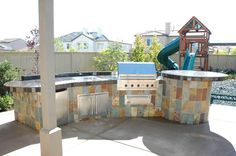 Outdoor Barbeque and Kitchen Landscape Design & Construction Gallery :: AAA Landscape Specialists