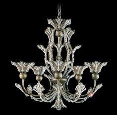 Rivendell 5 Light Crystal Chandelier