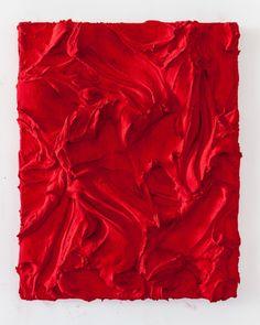 JASON MARTIN:Rojas (2012) Pure pigment on aluminium 96 x 78 cm (37 4/5 x 30 7/10 in.)