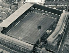 Aerial view Goodison Park, back in 1966