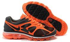 1b908b0029 Cheap 487982-008 Mens Nike Air Max 2012 Black Orange 2014 Free S Barato Nike