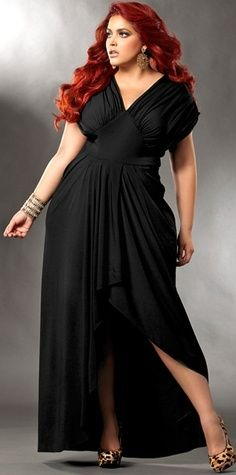 Want Beautiful plus size cocktail dress with arm coverage Yesss