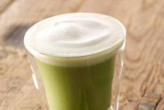 Tazo Green Tea Latte - make vegan by ordering in Nonfat & Soy!