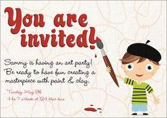 Pierre Flat Standard Invitation at Wishing Tree Designs!