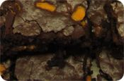 Our Candied Orange & Cointreau #brownies