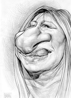 Barbara Streisand...lol.  So wrong!!😂😂