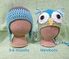 This pattern is for a mannequin head that you can use to display and photograph hats. There are two sizes, newborn and 3-6 months. They are crocheted in the round with a G hook and a red heart super saver yarn and stuffed firmly. My finished sizes are 13 inches around for the newborn size and 16 inches around for the 3-6 month size.