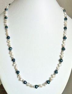 Freshwater & keishi pearl necklace