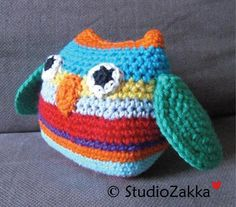 Crochet Craft | Small Owl