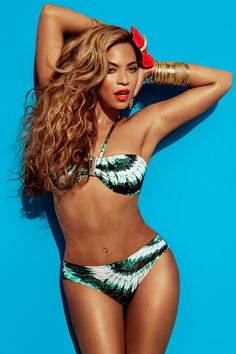 Beyonce sizzles up as the face of H Swimwear Summer 2013 (Full Campaign)  Heidi 9cf76625571d5