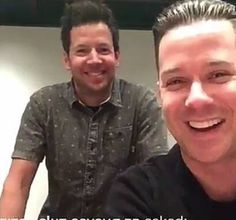 Pierre Bouvier and David Desrosiers Cute Boys, My Boys, Im Addicted To You, Song One, Him Band, Sound Of Music, Music Bands, My Boyfriend, Emo