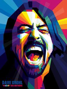 Dave Grohl by ekoabiyudha