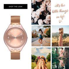 Un tributo a la feminidad. El Swatch SKINCHIC es el accesorio perfecto para darle a tu look el final touch.