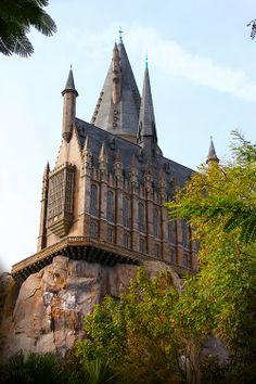 Hogwards Castle in Universal's Islands of Adventure, Orlando