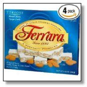 Ferrara Torrone ~ Almond Honey Nougat Candy for Valentines Gift